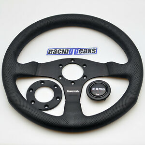 MOMO Competition leather steering wheel 350mm NEW sport tuning drift