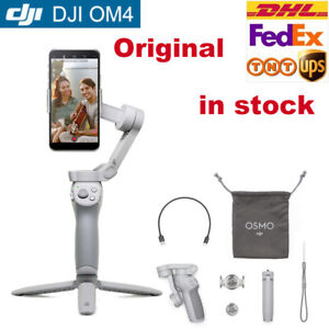 genuine DJI OM 4 OSMO MOBILE Handheld Foldable Stabilizer Gimbal For SmartPhone