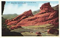 Postcard Park of the Red Rocks Denver Mt Parks Colorado