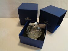 Swarovski Christmas Ball Ornament 2013 New First In Series