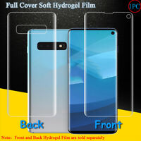 Front/Back Full Cover Screen Protector Film For Samsung Galaxy S10E S10 Plus