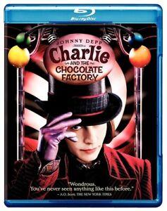 CHARLIE AND THE CHOCOLATE FACTORY New Sealed Blu-ray Johnny Depp Tim Burton