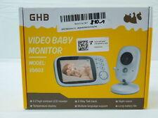 GHB Babyphone 3,2 Zoll Smart Baby Monitor TFT LCD Bildschirm Nachtsichtkamera