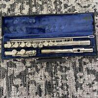 Vintage Armstrong Flute Model 104 With Original Case Elkhart, IN