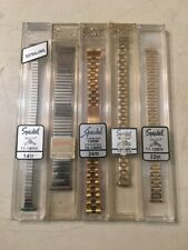 Speidel Watch Bands Lot Of 5 #4