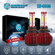 IRONWALLS CREE 9005 1800W 270000LM LED Headlight Kit Hi/Lo Beam Light Bulb 6000K