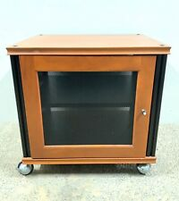 Salamander Synergy Single Expandable A/V Cabinet on casters