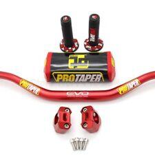 Pro Taper FAT BAR Evo Handlebars Dirt Bike Handle 1-1/8 ATV grips pad Motorcycle