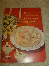 25 New Coffee-Flavored Desserts Starring Nescafe - 1949