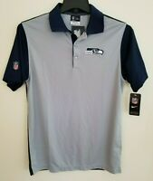 NWT Seattle Seahawks Nike Dri-Fit Men's S Golf Polo