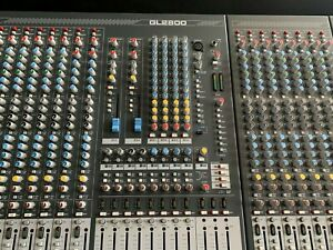 Allen & Heath GL2800 48 Channel Mixing Console Inc Touring Roadcase