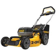 DeWALT DCMW220P2 20-Volt 20-Inch 5.0Ah 3-in-1 Easy Storage Metal Deck Lawn Mower