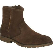 $170 New Marc New York by Andrew Mark Hound Brown Suede Ankle Boots sz 13M
