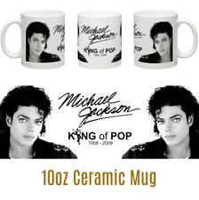 Michael Jackson 10oz Ceramic Mug fan gift Christmas Birthday       Music Legends