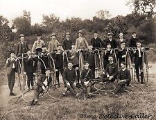 Penny Farthing High Wheel Bicycle Club - Historic Photo Print