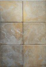 Tibet Grey 15x15 cm Stone Effect Porcelain Textured Floor & Wall Tiles
