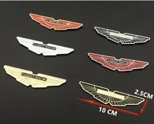 3D Metal Sticker Flight Show Logo Side Front Body Badge for Car Aston Martin