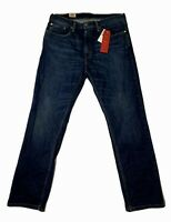 Levi's Men's Jeans Size 36x34 559 Relaxed Straight Stretch Blue NWT