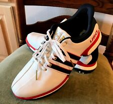 Authentic Men's Leather 2016 Rio Olympics USA Adidas Tour 360 Golf Shoes US 10.5