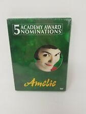 Amelie Dvd 2001 2-Disc Set Special Edition New Sealed Tear/hole in wrap at rear