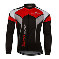Men Cycling Jersey Ciclismo Bike Bicycle Long Sleeve Top Shirt Clothing Zerobike