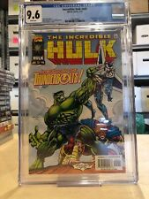 INCREDIBLE HULK #449 CGC 9.6 NM+ / 1ST APP OF THE THUNDERBOLTS