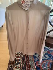 Giorgio Armani Women's Grey Blouse Size 44 Medium