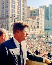 Senator John F. Kennedy campaigns in Dayton Ohio New 8x10 Photo