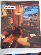 Toyota 4 Runner range brochure 2000 USA market