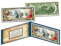 POPE JOHN PAUL II BEATIFICATION Legal Tender US $2 Bill with Folio & Certificate
