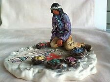 GOEBEL DEGRAZIA Pueblo Sandpainter Numbered Limited Edition 104/950