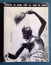 Sociétés de danse chez les FANG du Gabon J Binet ORSTOM 1972