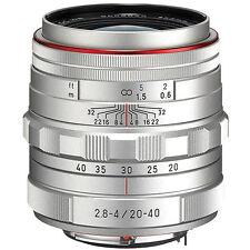 Pentax HD Pentax DA 20-40mm f/2.8-4 ED Limited DC WR Lens (Silver) #23010