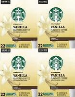 88 COUNT Starbucks Vanilla K-Cups Coffee for Keurig Best Before June 2020