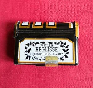 Petite boîte vintage fantaisie La Pie Qui Chante réglisse - Bonbons confiseries