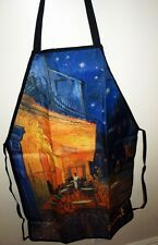 Apron Vincent Van Gogh Cafe Terrace Father's Day Gift  Art Print Kitchen New