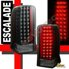 Black LED Tail Lights Lamps RH+LH 1 Pair For 2002-2006 Cadillac Escalade