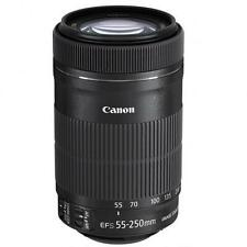 Summer Splash Sale 55-250 New Canon EF-S 55-250mm F/4.0-5.6 STM IS Lens 8546B002