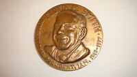 Large bronze Union medal for I.A.M's Floyd E. Smith
