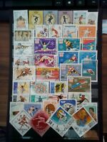 Sport Mix  Briefmarken Lot Stamps Sellos Timbrres