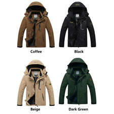 2018Winter Inner Fleece Waterproof Jacket Outdoor Sport Warm Coat Hiking Camping