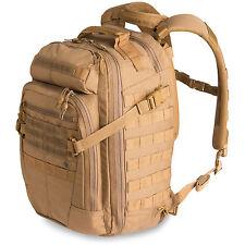 First Tactical especialista en 1 día Ejército Militar Senderismo Mochila Morral Coyote