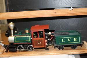 G Scale Live Accuacraft Steam Engine