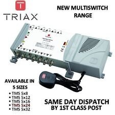 TRIAX New ECO Multiswitch Range - TMS 5 x 24 Satellite Multiswitch
