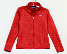 PATAGONIA Better Seater Fleece Jacket Wo's XS Red Full Zip