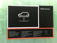 NEW MINI SERVICE BOOK UNUSED NOT DUPLICATE ALL MODELS MULTI LANGUAGE GENUINE/OEM