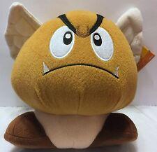 """NWT Super Mario Bros. Flying Goomba 8"""" Plush Wings  Nintendo Koopa Troop Enemy"""