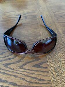 Maui Jim Polarized Plus Hibiscus Sunglasses MJ 134-07 Rose Model Made in Italy