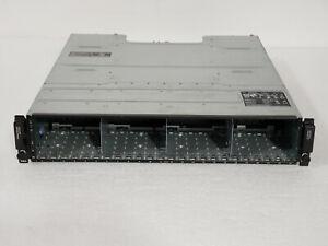 "Dell Powervault MD1220 2x W307K / 3DJRJ Controller  2x PSU  2.5"" No Drive/Trays"