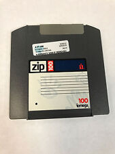 100MB Iomega ZIP100 Disk for 100MB/250MB IOMEGA ZIP Machines